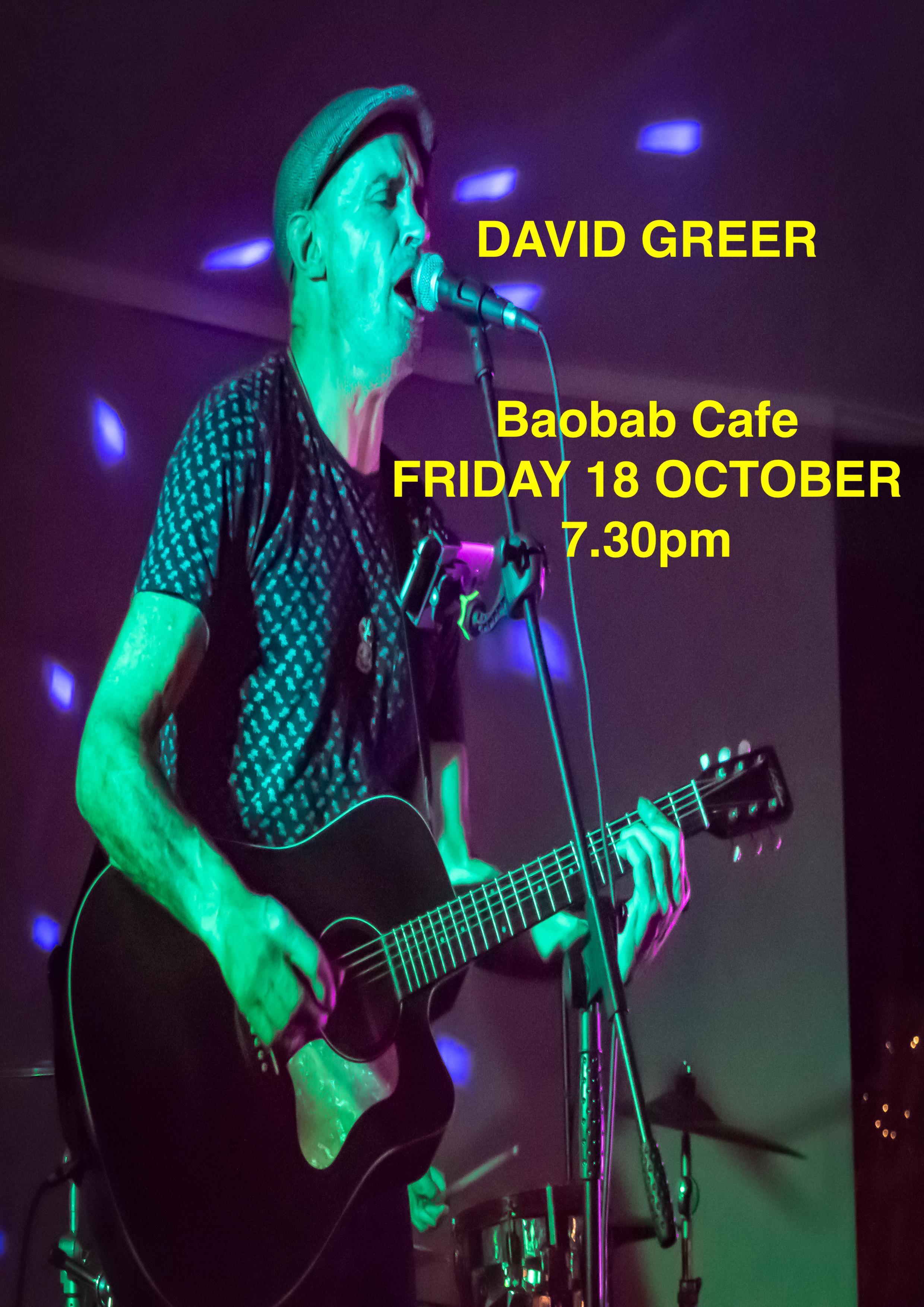 David Greer Cafe Baobab